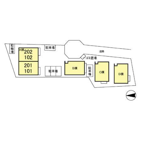 【区画図】ルイナール A