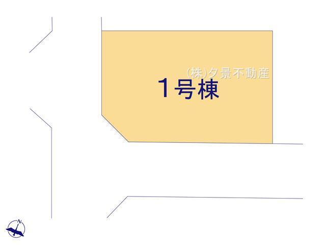 【区画図】桜区大字白鍬153-1(全1戸)新築一戸建てブルーミングガーデン