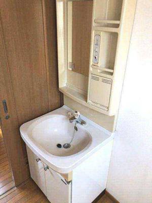 【独立洗面台】清新戸建
