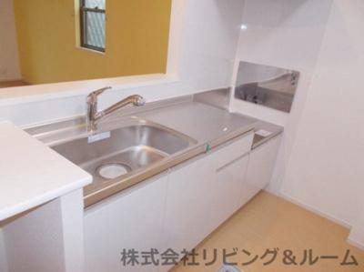 【キッチン】グランパール延方Ⅰ