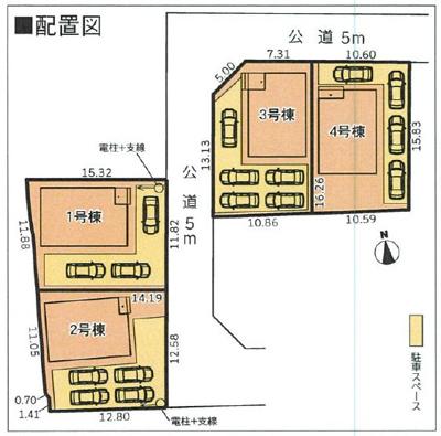 【区画図】富士市比奈 9期 新築一戸建て 4号棟 AN