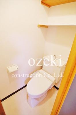【トイレ】ウエストサイドハイツ