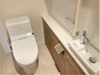 【トイレ】グランドメゾン上町台レジデンスタワー