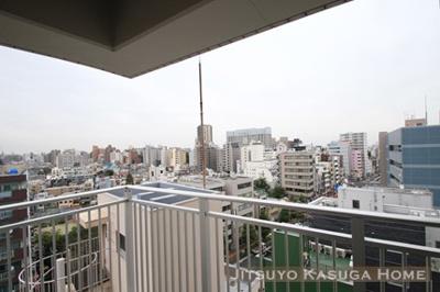 【バルコニー】メゾンカルム本郷