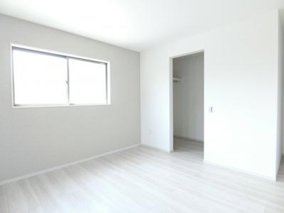【洋室】土浦市並木1期 新築戸建 全4棟