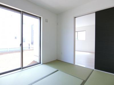 【和室】土浦市並木1期 新築戸建 全4棟