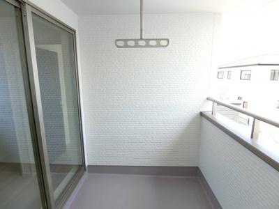 【バルコニー】土浦市並木1期 新築戸建 全4棟