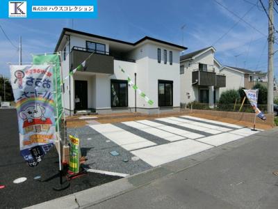 【外観】土浦市並木1期 新築戸建 全4棟