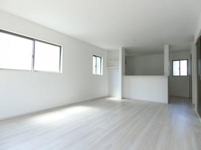 【居間・リビング】土浦市並木1期 新築戸建 全4棟