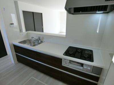 【キッチン】土浦市並木1期 新築戸建 全4棟