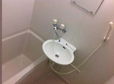 【浴室】レオパレスシェル都3