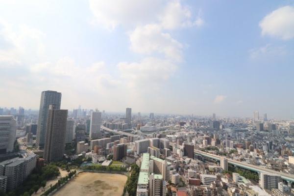 【物件からの展望】40階部分に付き眺望良好です◎開放感があり、日中から都心の景色をお楽しみ頂けます♪