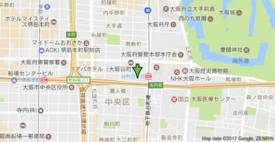【地図】エスライズ本町東