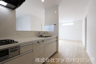 【キッチン】旭区太子橋1丁目 新築 2号棟 (全6棟)