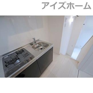 【キッチン】プレミア清水