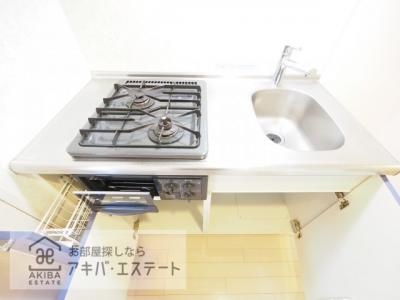 【キッチン】ガラ・グランディ日本橋
