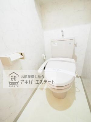 【トイレ】ガラ・グランディ日本橋