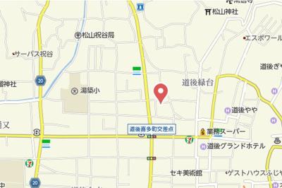 【地図】スペリオ道後