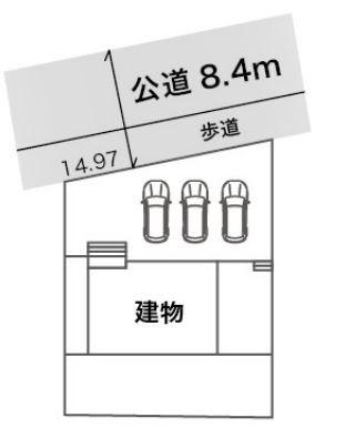 【区画図】焼津市吉永 新築一戸建て HM