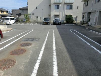 【駐車場】シダーフィールドⅡ A棟