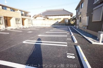 【駐車場】ビレッジヒルⅩⅢ