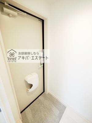 【玄関】テラスルミエール青井