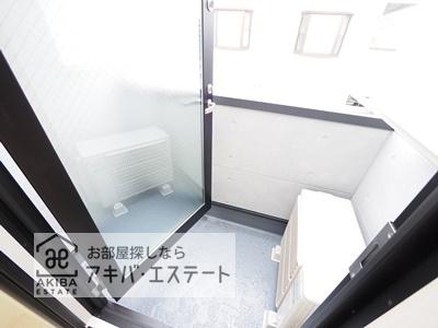 【バルコニー】テラスルミエール青井