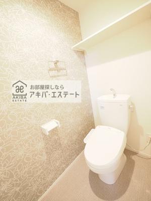 【トイレ】テラスルミエール青井
