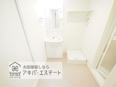 【洗面所】テラスルミエール青井