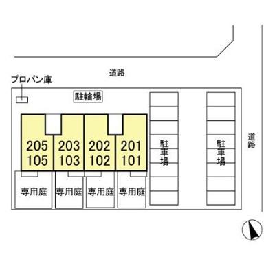 【区画図】BONJOUR