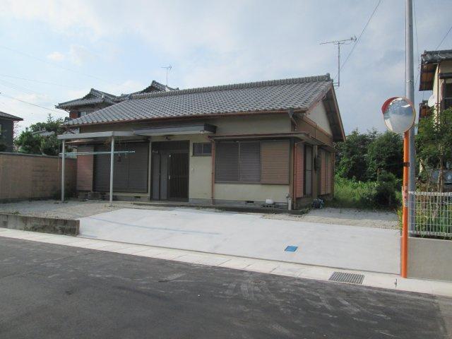 【外観】岡部町三輪 家庭菜園付き住宅
