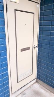 シンプルで使いやすい玄関です。レーベンハイム