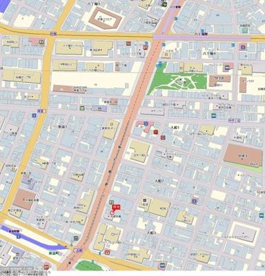 【地図】グラーサ銀座イースト