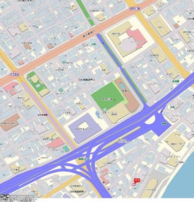 【地図】パレステュディオ日本橋東