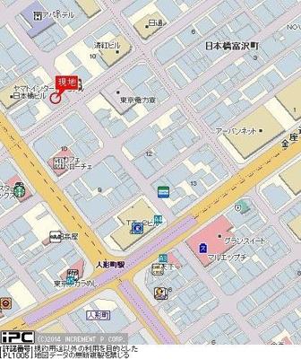 【地図】ヴェルステージ日本橋人形町