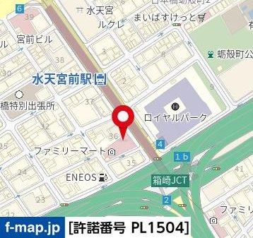 【地図】ブロードシティ東京