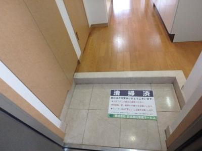 【玄関】ルーブル新橋