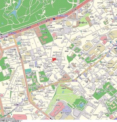 【地図】パレステュディオ赤坂弐番館