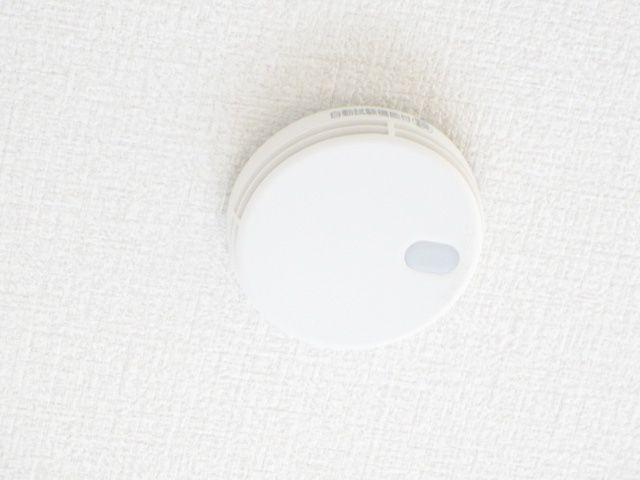 全居室に火災報知器を設置済み。家族の安全を守ります
