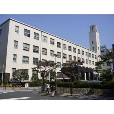 役所「川崎市役所まで723m」川崎市役所