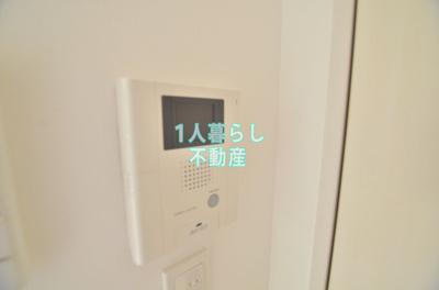 モニター付きインターホンで急な来客も安心。