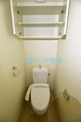 ウォシュレット付きが嬉しいトイレ