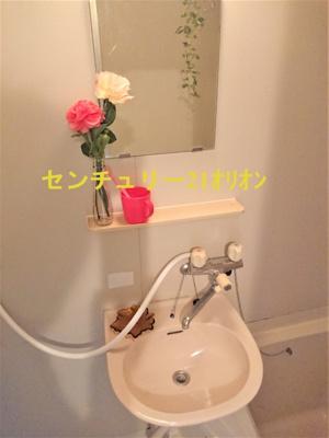 【洗面所】コーポ・ブルースカイI