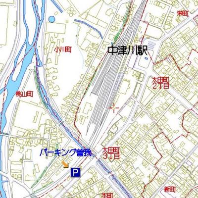 【地図】パーキングエリア曽我