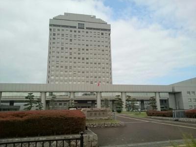 新潟県庁まで1800m