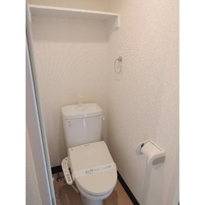 人気条件のバストイレ別・個室タイプのトイレです