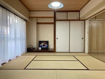 広く開放感のある和室です