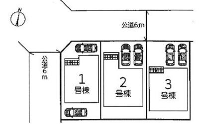 【区画図】リーブルガーデンS八幡市男山吉井2期