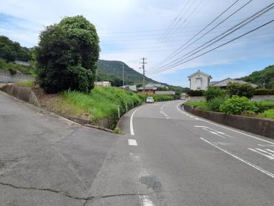 前面道路(県道側)