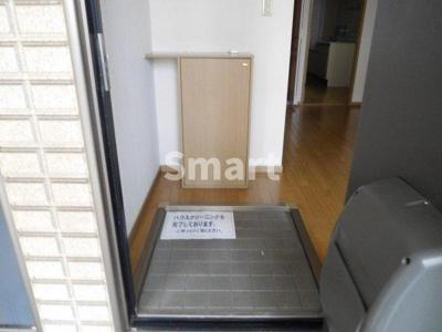 【玄関】ビラージュ上高田